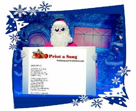graphic relating to Christmas Caroling Songs Printable known as Print a Track - No cost Printable Xmas New music Carols